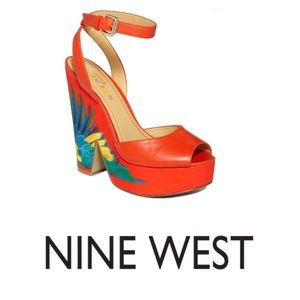 Nine West Brasil Trois Chic Chunky Sandals